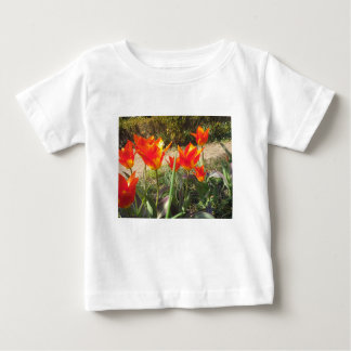 Red and Yellow Tulips Baby T-Shirt