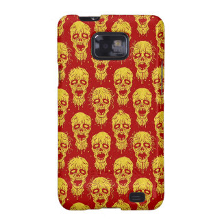 Red and Yellow Zombie Apocalypse Pattern Galaxy S2 Cover
