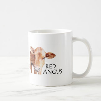 Red Angus - Red is the New Black Coffee Mug