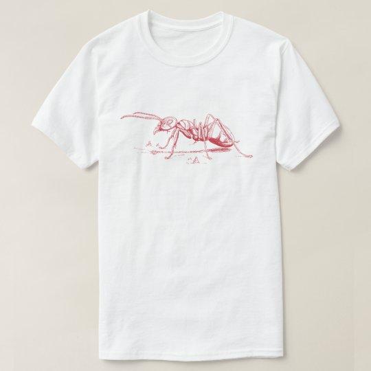 Red Ant Illustration T-Shirt