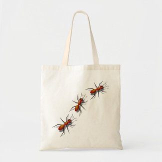 Red Ants Crawling On Your Tote Bag
