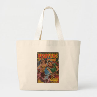 Red Ape Men in Chains Large Tote Bag