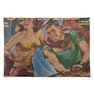 Red Ape Men in Chains Placemat