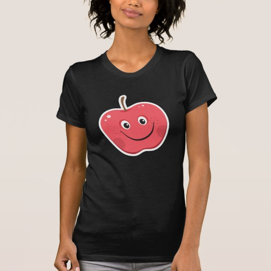Red apple cartoon character T-Shirt