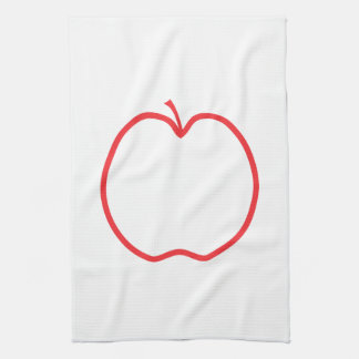 Red Apple. Hand Towel