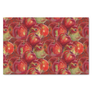Red Apple Harvest Tissue Paper