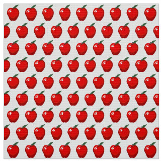Red Apple KItchen Fabric