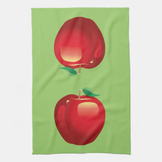 Red Apple Kitchen Towel