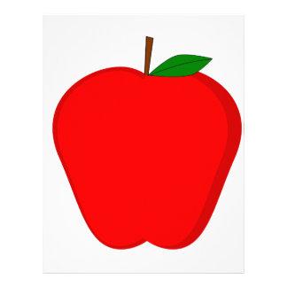 Red Apple Letterhead