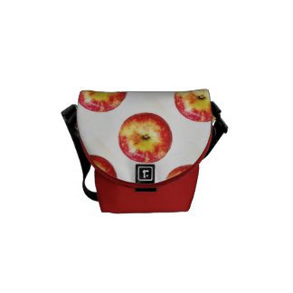 Red Apple Mini Messenger Bag
