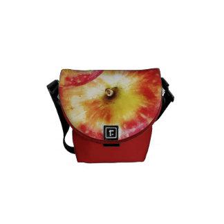 Red Apple Mini Messenger Bag