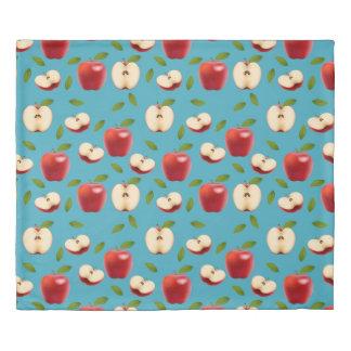 Red Apple Pattern Duvet Cover