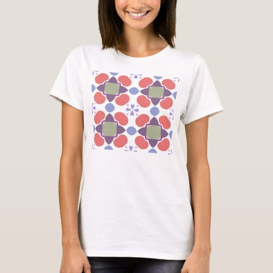 red apple pattern T-Shirt