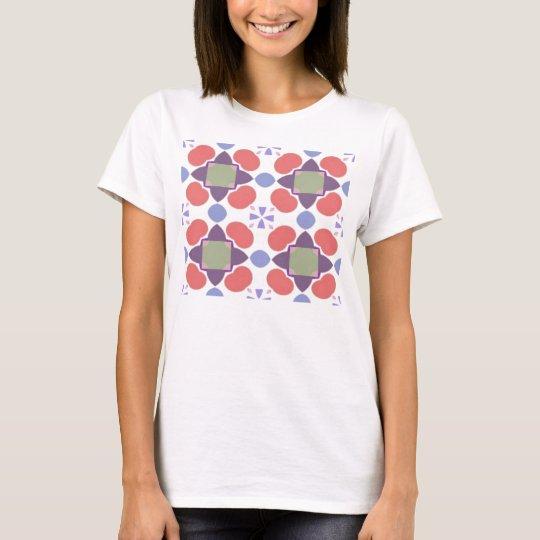 red apple pattern T-Shirt