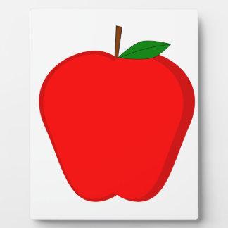 Red Apple Plaque