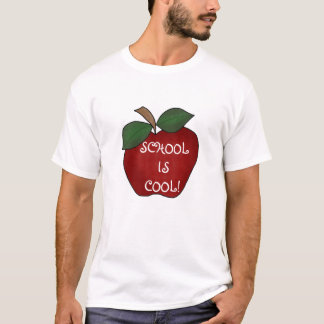 Red Apple School is Cool T-Shirt