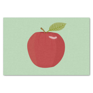 red apple tissue paper