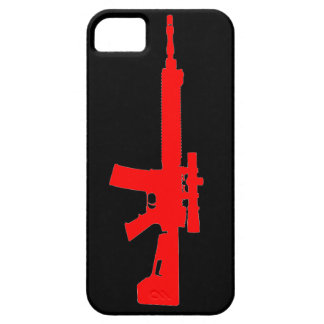 Red AR-15 iPhone 5 Universal Case iPhone 5 Covers