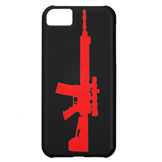Red AR-15 iPhone 5 Universal Case iPhone 5C Covers