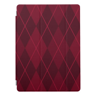 """Red Argyle 12.9"""" iPad Pro Cover"""