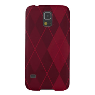 Red Argyle Case For Galaxy S5
