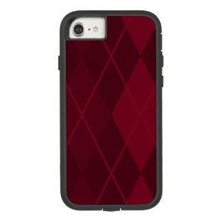 Red Argyle Case-Mate Tough Extreme iPhone 8/7 Case