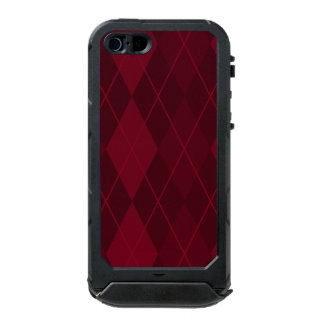 Red Argyle Incipio ATLAS ID™ iPhone 5 Case