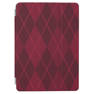 Red Argyle iPad Air Cover