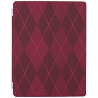 Red Argyle iPad Cover