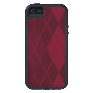 Red Argyle iPhone 5 Covers