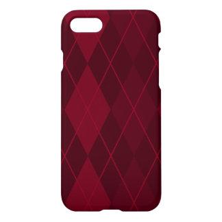 Red Argyle iPhone 7 Case