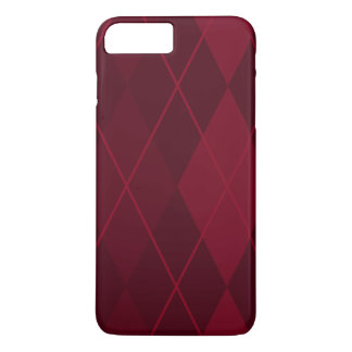 Red Argyle iPhone 8 Plus/7 Plus Case