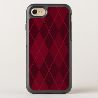 Red Argyle OtterBox Symmetry iPhone 8/7 Case