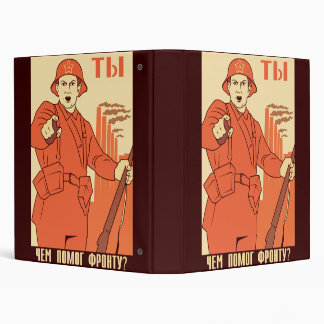 Red Army 3 Ring Binders