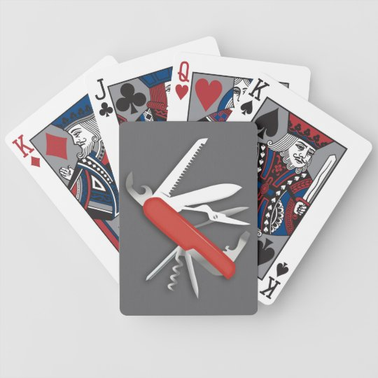 Red Army Knife Deluxe Poker Deck