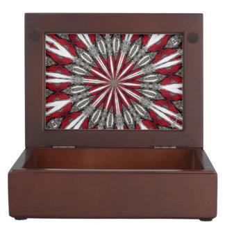 Red Arrow Medallion Memory Box