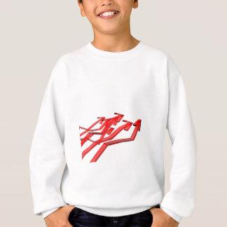 Red arrows sweatshirt