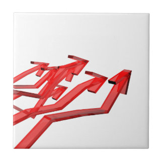 Red arrows tile