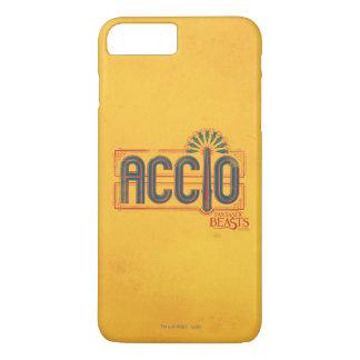 Red Art Deco Accio Spell Graphic iPhone 7 Plus Case