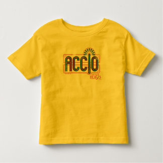 Red Art Deco Accio Spell Graphic Toddler T-shirt