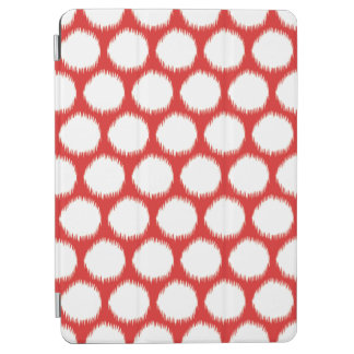 Red Asian Moods Ikat Dots iPad Air Cover