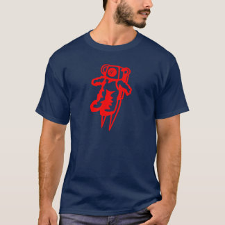 Red Astronaut T-Shirt