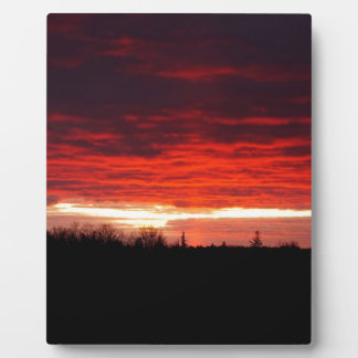 Red at Night, sailors delight Plaque