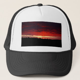 Red at Night, sailors delight Trucker Hat