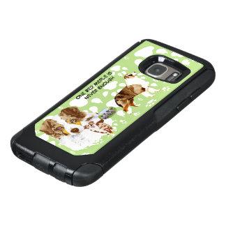 Red Aussie, Paw print Commuter OtterBox Samsung Galaxy S7 Case
