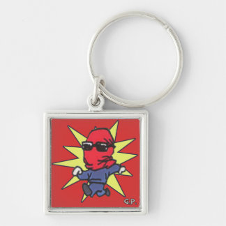 Red Avenger GP Keychain