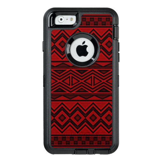 Red Aztec iPhone 6/6s Otterbox Case