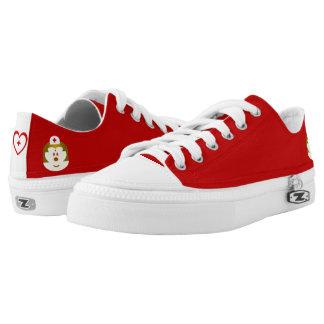 Red B & Nurse 鮑 鮑 Low Top Shoes