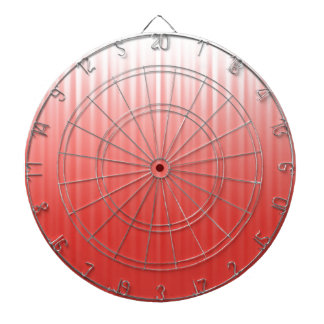 Red Background Dartboard