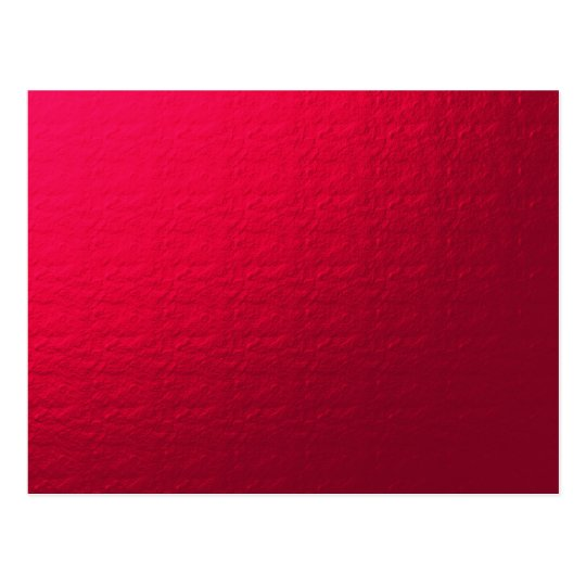 red background postcard